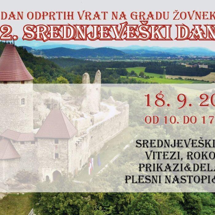 2. srednjeveški dan na gradu Žovnek – PRESTAVLJENO na oktober